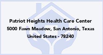 Patriot Heights Health Care Center