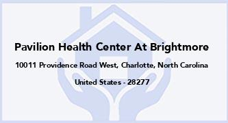Pavilion Health Center At Brightmore