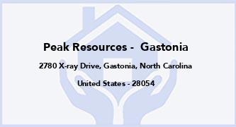 Peak Resources -  Gastonia