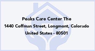 Peaks Care Center The