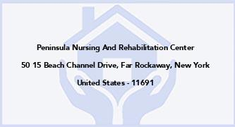 Peninsula Nursing And Rehabilitation Center