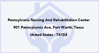 Pennsylvania Nursing And Rehabilitation Center