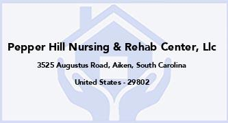 Pepper Hill Nursing & Rehab Center, Llc