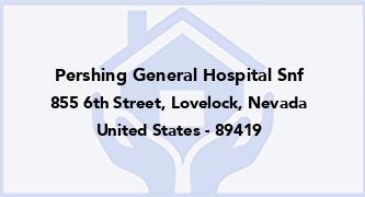 Pershing General Hospital Snf