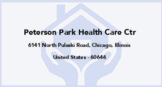 Peterson Park Health Care Ctr