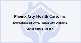 Phenix City Health Care, Inc
