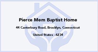 Pierce Mem Baptist Home
