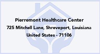 Pierremont Healthcare Center