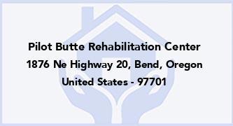 Pilot Butte Rehabilitation Center