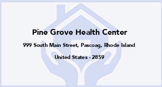 Pine Grove Health Center