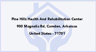 Pine Hills Health And Rehabilitation Center
