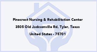 Pinecrest Nursing & Rehabilitation Center