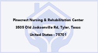 Pinecrest Nursing & Rehabilitation Center