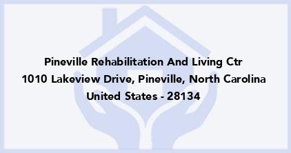 Pineville Rehabilitation And Living Ctr