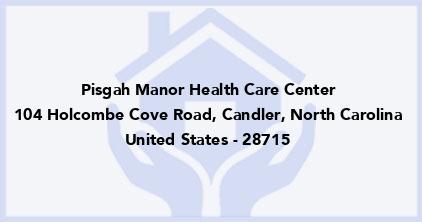 Pisgah Manor Health Care Center