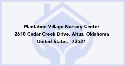 Plantation Village Nursing Center