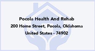 Pocola Health And Rehab