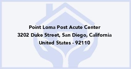 Point Loma Post Acute Center