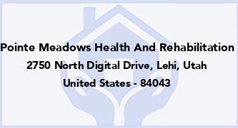 Pointe Meadows Health And Rehabilitation