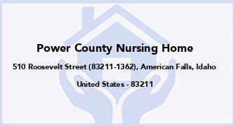 Power County Nursing Home
