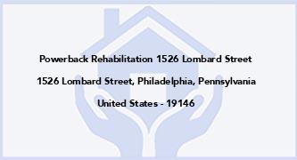 Powerback Rehabilitation 1526 Lombard Street