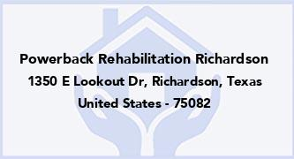 Powerback Rehabilitation Richardson