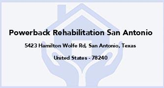 Powerback Rehabilitation San Antonio