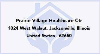 Prairie Village Healthcare Ctr