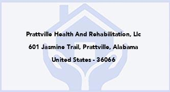 Prattville Health And Rehabilitation, Llc