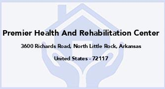 Premier Health And Rehabilitation Center
