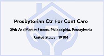Presbyterian Ctr For Cont Care