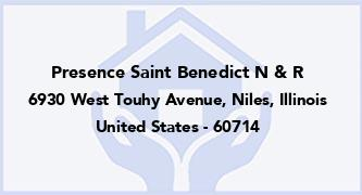 Presence Saint Benedict N & R