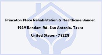 Princeton Place Rehabilitation & Healthcare Bander