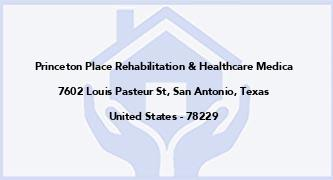 Princeton Place Rehabilitation & Healthcare Medica