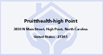 Pruitthealth-High Point