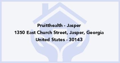 Pruitthealth - Jasper