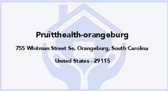 Pruitthealth-Orangeburg