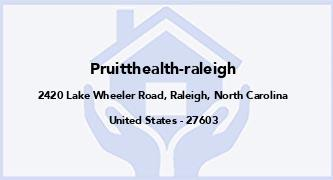 Pruitthealth-Raleigh