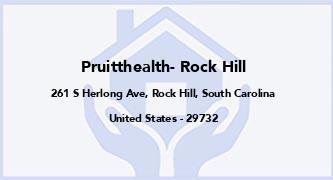 Pruitthealth- Rock Hill