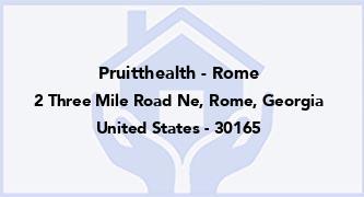 Pruitthealth - Rome