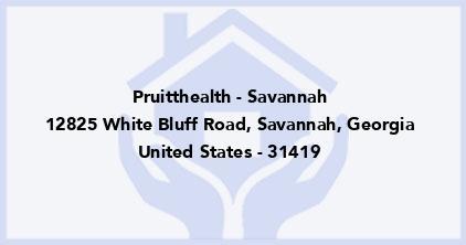 Pruitthealth - Savannah