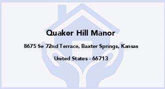 Quaker Hill Manor