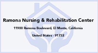 Ramona Nursing & Rehabilitation Center