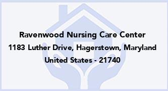 Ravenwood Nursing Care Center