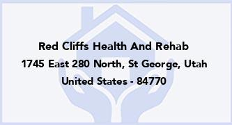 Red Cliffs Health And Rehab