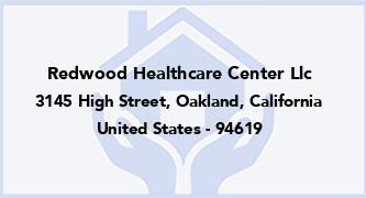 Redwood Healthcare Center Llc