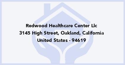 Redwood Healthcare Center Llc