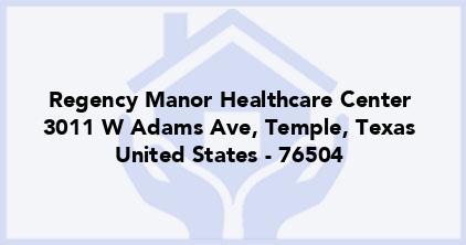 Regency Manor Healthcare Center
