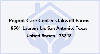 Regent Care Center Oakwell Farms