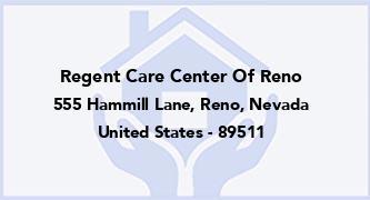 Regent Care Center Of Reno